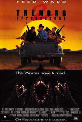 Tremors 2: Aftershocks - 27 x 40 Movie Poster - Style A