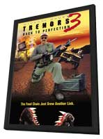 Tremors 3: Back to Perfection - 11 x 17 Movie Poster - Style A - in Deluxe Wood Frame