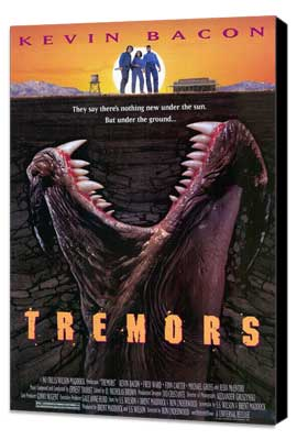 Tremors - 27 x 40 Movie Poster - Style A - Museum Wrapped Canvas