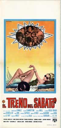 Treno del sabato, Il - 13 x 28 Movie Poster - Italian Style A