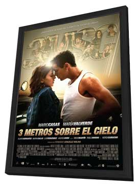 Tres metros sobre el cielo - 11 x 17 Movie Poster - Spanish Style B - in Deluxe Wood Frame