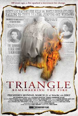 Triangle: Remembering the Fire - 11 x 17 Movie Poster - Style A