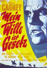 Tribute to a Bad Man - 11 x 17 Movie Poster - German Style A