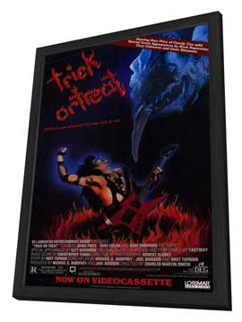 Trick or Treat - 27 x 40 Movie Poster - Style B - in Deluxe Wood Frame