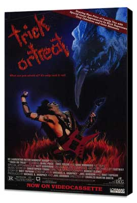 Trick or Treat - 27 x 40 Movie Poster - Style B - Museum Wrapped Canvas