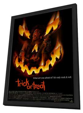 Trick or Treat - 11 x 17 Movie Poster - Style A - in Deluxe Wood Frame