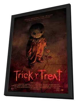 Trick 'r Treat - 11 x 17 Movie Poster - Style B - in Deluxe Wood Frame