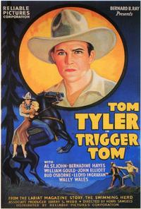 Trigger Tom - 27 x 40 Movie Poster - Style A
