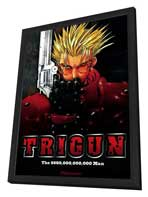 Trigun (TV) - 27 x 40 TV Poster - Style A - in Deluxe Wood Frame