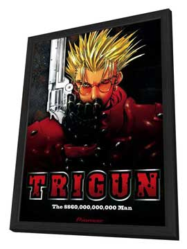 Trigun (TV) - 11 x 17 TV Poster - Style A - in Deluxe Wood Frame