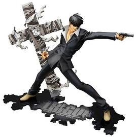 Trigun (TV) - Badlands Rumble Nicholas Wolfwood ArtFXJ Statue