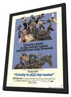 Trinity is Still My Name - 11 x 17 Movie Poster - Style A - in Deluxe Wood Frame
