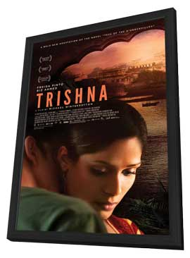 Trishna - 27 x 40 Movie Poster - Style A - in Deluxe Wood Frame