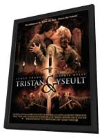 Tristan + Isolde - 27 x 40 Movie Poster - French Style A - in Deluxe Wood Frame