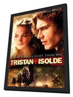 Tristan & Isolde - 11 x 17 Movie Poster - Style B - in Deluxe Wood Frame