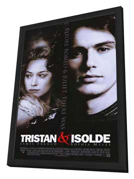 Tristan & Isolde - 11 x 17 Movie Poster - Style A - in Deluxe Wood Frame