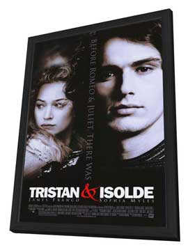 Tristan & Isolde - 27 x 40 Movie Poster - Style A - in Deluxe Wood Frame
