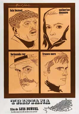 Tristana - 27 x 40 Movie Poster - Spanish Style A
