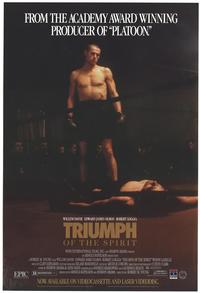 Triumph of the Spirit - 11 x 17 Movie Poster - Style A