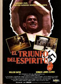 Triumph of the Spirit - 11 x 17 Movie Poster - Spanish Style A