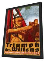 Triumph of the Will - 11 x 17 Poster - Foreign - Style A - in Deluxe Wood Frame