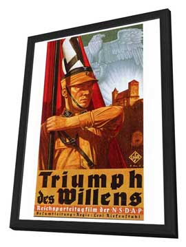 Triumph of the Will - 27 x 40 Movie Poster - Foreign - Style A - in Deluxe Wood Frame