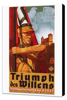 Triumph of the Will - 27 x 40 Movie Poster - Foreign - Style A - Museum Wrapped Canvas