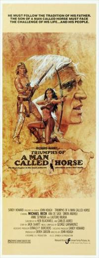 Triumphs of a Man Called Horse - 14 x 36 Movie Poster - Insert Style A