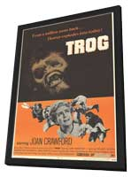 Trog - 11 x 17 Movie Poster - Style A - in Deluxe Wood Frame