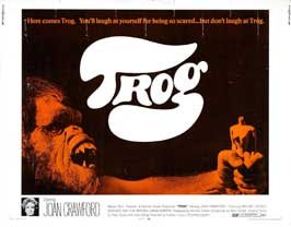 Trog - 22 x 28 Movie Poster - Half Sheet Style A