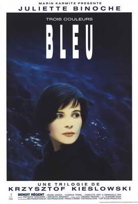 Trois Couleurs: Bleu - 27 x 40 Movie Poster - Style B
