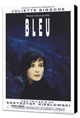 Trois Couleurs: Bleu - 27 x 40 Movie Poster - Style B - Museum Wrapped Canvas