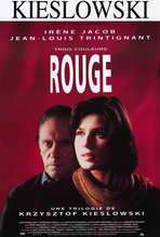 Trois Couleurs: Rouge - 27 x 40 Movie Poster - Style B
