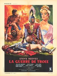 The Trojan Horse - 11 x 17 Movie Poster - French Style A