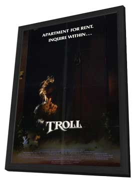 Troll - 11 x 17 Movie Poster - Style A - in Deluxe Wood Frame