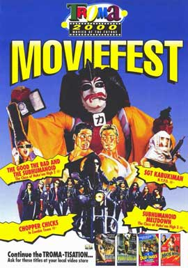 Troma Moviefest - 11 x 17 Movie Poster - Style A