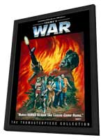 Troma's War - 11 x 17 Movie Poster - Style A - in Deluxe Wood Frame