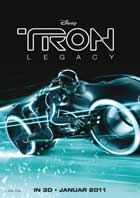 Tron Legacy - 27 x 40 Movie Poster - German Style A