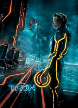 Tron Legacy - 27 x 40 Movie Poster - Style J
