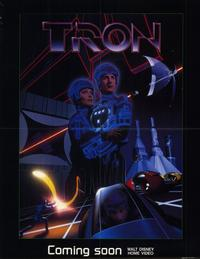 Tron - 11 x 17 Movie Poster - Style A