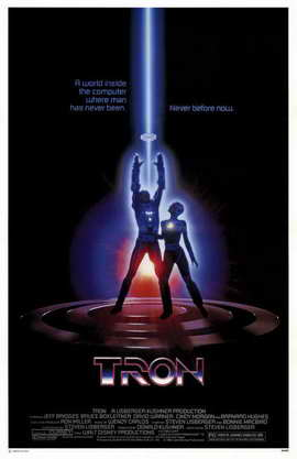 Tron - 11 x 17 Movie Poster - Style B
