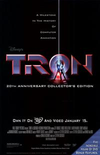Tron - 11 x 17 Movie Poster - Style E