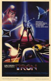 Tron - 11 x 17 Movie Poster - Italian Style A