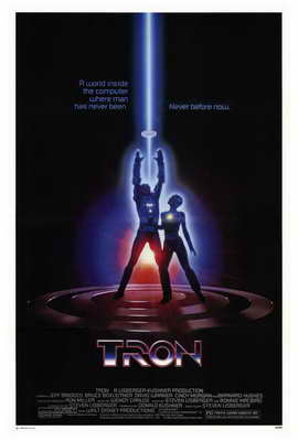 Tron - 27 x 40 Movie Poster - Style B