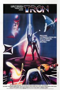 Tron - 27 x 40 Movie Poster - French Style A