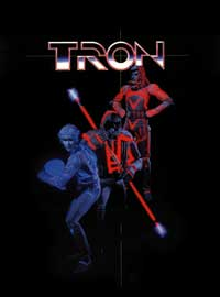 Tron - 11 x 17 Movie Poster - Style D