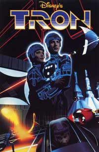 Tron - 11 x 17 Movie Poster - Style F