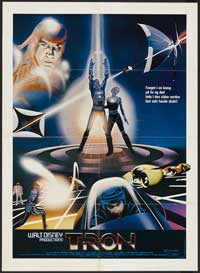Tron - 27 x 40 Movie Poster - Swedish Style A