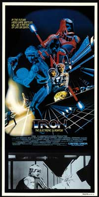 Tron - 20 x 40 Movie Poster - UK Style A