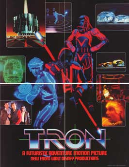 Tron - 11 x 17 Movie Poster - Style H